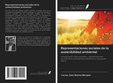 Buchcover von Representaciones sociales de la sostenibilidad ambiental