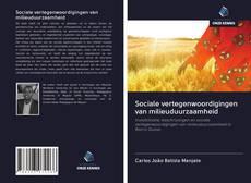 Portada del libro de Sociale vertegenwoordigingen van milieuduurzaamheid