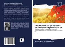 Bookcover of Социальные репрезентации экологической устойчивости