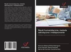 Обложка Nauki humanistyczne, metoda sokratyczna i metapoznanie