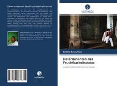 Bookcover of Determinanten des Fruchtbarkeitsstatus