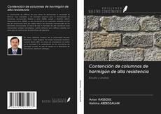 Contención de columnas de hormigón de alta resistencia kitap kapağı