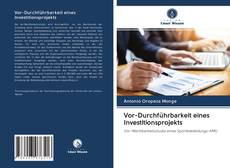 Bookcover of Vor-Durchführbarkeit eines Investitionsprojekts