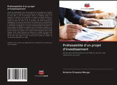 Bookcover of Préfaisabilité d'un projet d'investissement