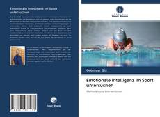 Capa do livro de Emotionale Intelligenz im Sport untersuchen