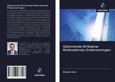 Обложка Opkomende Afrikaanse Multinationale Ondernemingen