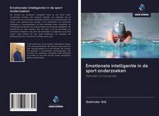 Borítókép a  Emotionele intelligentie in de sport onderzoeken - hoz