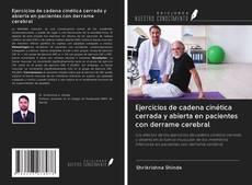 Portada del libro de Ejercicios de cadena cinética cerrada y abierta en pacientes con derrame cerebral