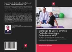 Portada del libro de Exercícios de Cadeia Cinética Fechada e Aberta em Pacientes com AVC
