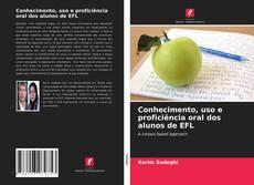 Capa do livro de Conhecimento, uso e proficiência oral dos alunos de EFL