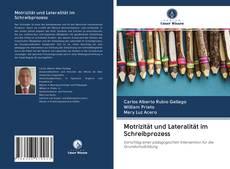 Capa do livro de Motrizität und Lateralität im Schreibprozess