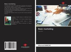 Bookcover of Basic marketing