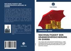 Copertina di NACHHALTIGKEIT DER KRANKENVERSICHERUNG IN GHANA