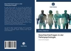Обложка Geschlechterfragen in der Tiefenpsychologie