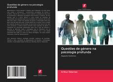 Capa do livro de Questões de género na psicologia profunda