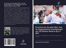 Обложка Ervaring van de gebruiker met de diagnostische vaardigheden van SD Bioline Malaria Ag P.f RDT