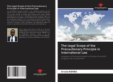 Buchcover von The Legal Scope of the Precautionary Principle in International Law