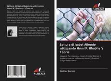 Bookcover of Lettura di Isabel Allende utilizzando Homi K. Bhabha 's Teorie