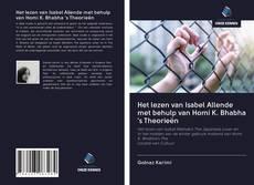 Bookcover of Het lezen van Isabel Allende met behulp van Homi K. Bhabha 's Theorieën