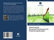 Capa do livro de Datenanalyse: Kurszusammenfassung mit Anwendungsübungen