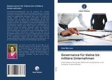 Portada del libro de Governance für kleine bis mittlere Unternehmen