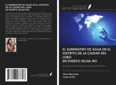 Bookcover of EL SUMINISTRO DE AGUA EN EL DISTRITO DE LA CIUDAD DEL LOBO EN PUERTO VELHA-RO