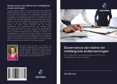 Bookcover of Governance van kleine tot middelgrote ondernemingen