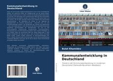 Bookcover of Kommunalentwicklung in Deutschland