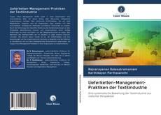 Обложка Lieferketten-Management-Praktiken der Textilindustrie