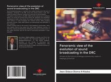 Portada del libro de Panoramic view of the evolution of sound broadcasting in the DRC