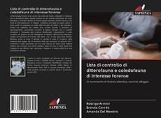 Lista di controllo di ditterofauna e coledofauna di interesse forense kitap kapağı