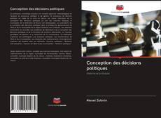 Buchcover von Conception des décisions politiques
