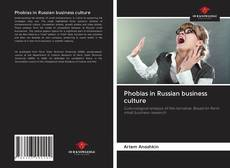 Capa do livro de Phobias in Russian business culture