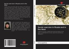 Capa do livro de Social coercion in Russia and in the West