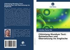 Обложка Chhintang Mundum Text: Dolmetschen und Übersetzung ins Englische
