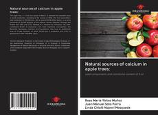 Capa do livro de Natural sources of calcium in apple trees:
