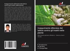 Capa do livro de Inseguimento difensivo del lattice contro gli insetti nelle piante