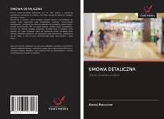 Portada del libro de UMOWA DETALICZNA