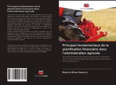 Couverture de Principes fondamentaux de la planification financière dans l'administration agricole