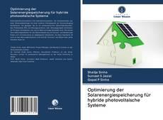 Bookcover of Optimierung der Solarenergiespeicherung für hybride photovoltaische Systeme