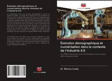 Couverture de Évolution démographique et numérisation dans le contexte de l'industrie 4.0