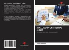 Capa do livro de FINAL WORK ON INTERNAL AUDIT
