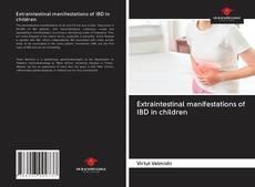 Bookcover of Extraintestinal manifestations of IBD in children