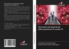 Portada del libro de Narrazioni ed esperienze della pandemia di covide-19