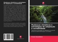 Capa do livro de Mudanças climáticas e estratégias de adaptação à variabilidade