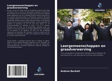 Bookcover of Leergemeenschappen en graadverwerving