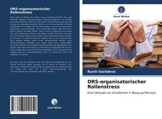 Bookcover of ORS-organisatorischer Rollenstress