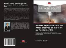Couverture de Private Equity au sein des PME: preuves en Italie et au Royaume-Uni