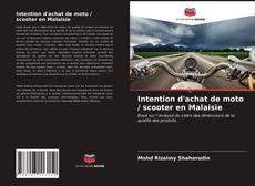 Обложка Intention d'achat de moto / scooter en Malaisie