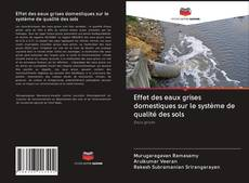 Capa do livro de Effet des eaux grises domestiques sur le système de qualité des sols